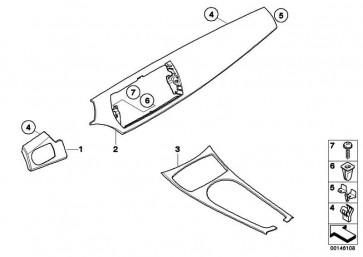 Blende I-tafel seidenmatt graphit Beifa.  Z4  (51457025638)