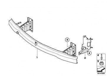 Aufnahmeplatte Kühlmodul unten rechts  1er 3er  (51647154546)