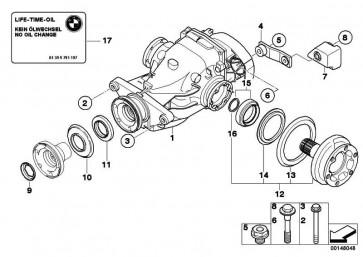 Austausch Hinterachsgetriebe I=2,56          1er 3er  (33107566218)