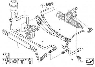 Kühlerrücklaufleitung  X3  (32413423922)