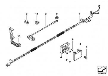 Kabelhalter  Z4  (61136916498)