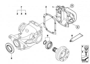Getriebedeckel TYP 188K        5er 7er  (33117516280)