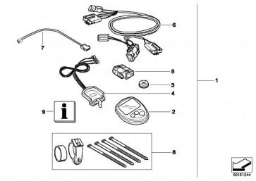 Kabelsatz Bordcomputer  K14 R13   (71607653924)