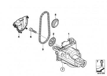 ISA-Schraube M8X35           MINI 1er 3er  (11417553143)