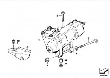 Austausch Hydrolenkgetriebe  5er  (32131141813)
