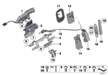 Torxschraube ISA M6X16       3er 5er 6er Z4  (51257066562)
