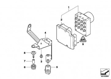 Reparatursatz Steuergerät DSC  3er Z3  (34512229802)