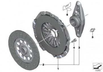 Satz Alu-Schrauben Schaltgetriebe  1er 3er 5er Z4  (23000417164)