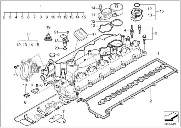 Sensor, Nockenwellenposition (HEL-6PU 009 121-631)