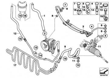 Kühlerrücklaufleitung  3er  (32416781460)