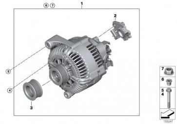 Austausch Generator 180A            X5  (12317561004)