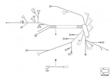 Kabelbaum Motor DDE (12517802565)