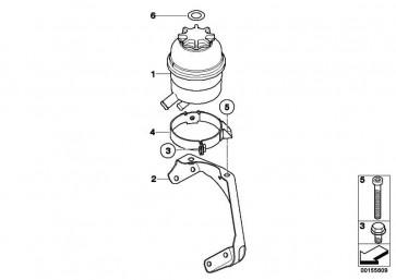 Ölbehälter CHF 11.S        1er 3er X1 X3  (32416851218)