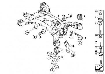 Sechskantschraube mit Scheibe M14X1,5X148     X5 X6 7er 5er 6er  (33326775040)