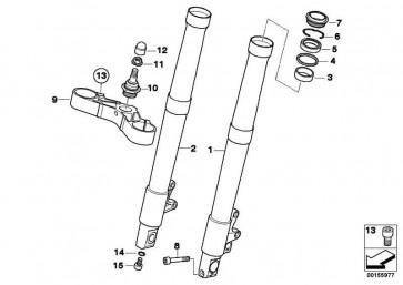 ISA-Schraube M8X25 8.8 MK     (07129906017)