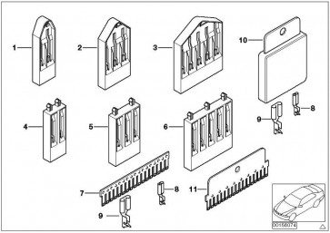 Kammverbinder 9 POL. / M6 3er 5er 6er 7er X3 X5 X6 Z3 Z4 Z8  (61138353735)