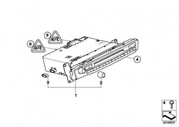 Austausch M-Audiosystemkontroller Prof.  X5 X6  (65129119848)