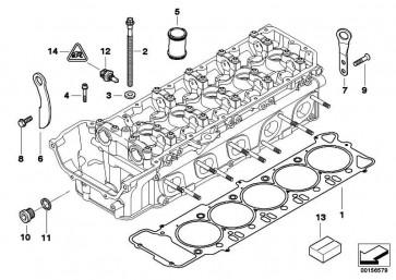 ISA-Schraube mit Scheibe M6X35-ZNNIV SI 5er 6er 3er K25 K26 K29 R13 259C K27 K46 K42  K21 K47 K49 K23  (07129905538)