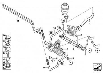 Kühlerrücklaufleitung  Z4  (32416796363)