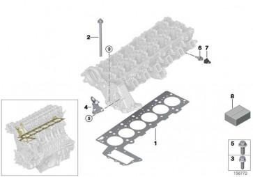 Zylinderkopfdichtung asbestfrei 3-LOCH          7er 5er 3er X5  (11122248984)