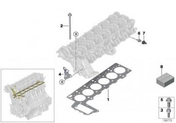 Zylinderkopfdichtung asbestfrei 0-LOCH          7er 5er X3 3er X5 6er X6  (11127801701)