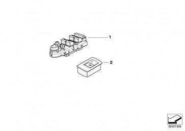 Schalter Fensterheber TABAK (61316974815)