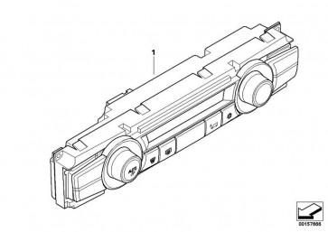 Bedienteil Klimaautomatik Basis  X5 X6  (64119310444)