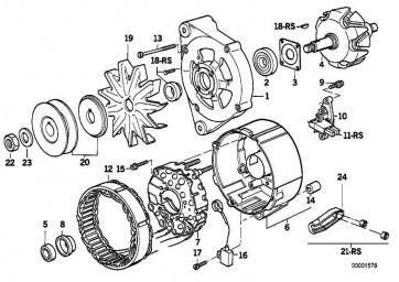 Teilesatz B+/D+           3er 5er  (12311727764)