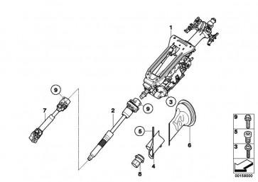Lenksäulenverstellung elektrisch  X5 X6  (32306786254)