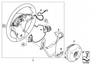 Abdeckung SCHWARZ         X3 X5  (32306778412)