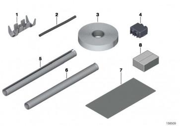 Polyester-Velour-Wickelband B=19MM/L=15M    1er 3er 5er 6er 7er X1 X3 X5 X6 Z3 Z4 Z8 MINI  (61136908716)