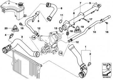 Stiftschraube M6X22           3er Z3 Z4 7er 5er X6 X5 X3 6er 4er X4  (07129905552)