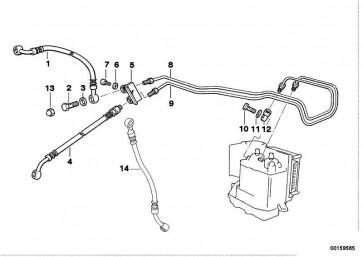 Bremsschlauch ABS              (34322314565)