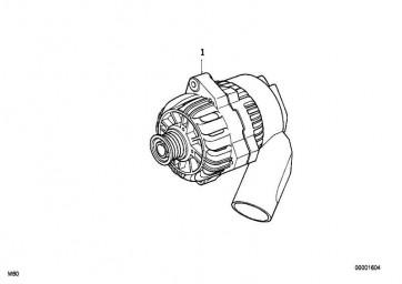 Austausch Kompakt Generator 120A BOSCH 7er 5er 3er X5 Z3  (12317501690)