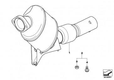 Montagesatz offenes System DPF E60 - M57 EURO3 5er  (18100422103)