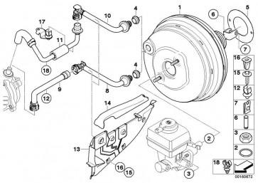Dichtung Bremskraftverstärker (34336751977)