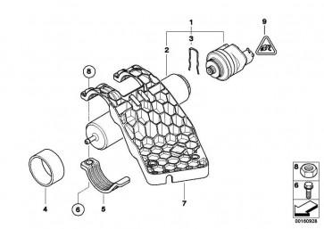 Sechskantschraube mit Scheibe M6X25-U2        1er 2er 3er 4er 5er 6er 7er X3 X4 X5 X6 Z4 MINI  (07119905871)