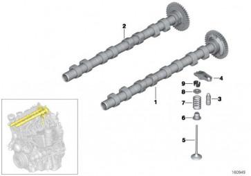 Auslassnockenwelle  1er 3er 5er X1 X3  (11318575436)