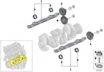 Nadellager D=30MM/37MM 1er 3er 5er X3 X1 4er X5 2er X4 7er MINI i8  (11278570971)