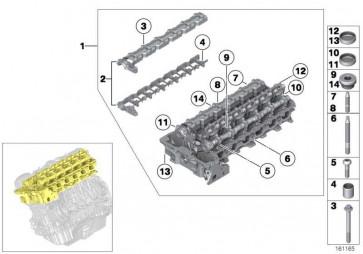 Torxschraube M6X30.5MM       1er 2er 3er 4er 5er 6er 7er X1 X3 X4 X5 X6 Z4 MINI  (11127515436)