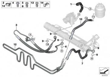 Kühlerrücklaufleitung  3er 1er X1  (32416796332)