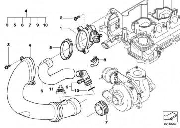 Zylinderschraube mit Scheibe M6X16-U1-PHR 7er 5er 3er Z8 X5 1er MINI  (07119906059)