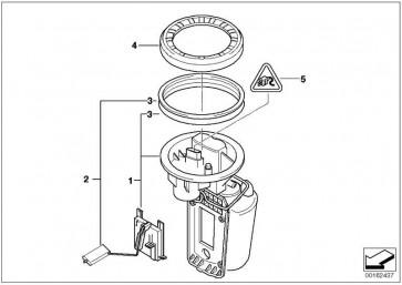 Kraftstoffpumpe mit Füllstandsgeber 50L             MINI  (16112755082)