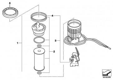 Kraftstofffilter mit Füllstandsgeber  MINI  (16112755084)