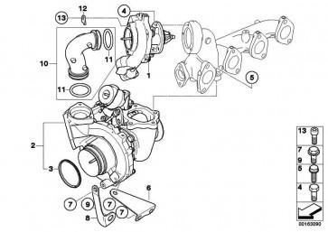 Austausch Turbolader  1er X1  (11657804638)