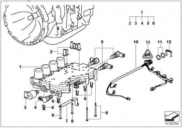 Kabelbaum mit Temperatursensor  3er 5er  (24367504752)