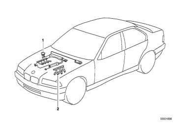 Kabelbaum Motor Injektormodul (12517789194)