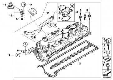 Zylinderkopfhaube  3er 5er 6er X3 X5 X6  (11127808000)