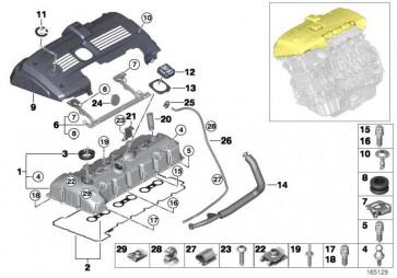 Schraube Aussentorx M7X35           1er 3er 5er 6er 7er X1 X3 X5 Z4  (11127558450)