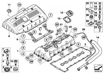 Entlüftungsschlauch  1er 3er 5er 6er 7er X1 X3 X5 Z4  (11157559528)